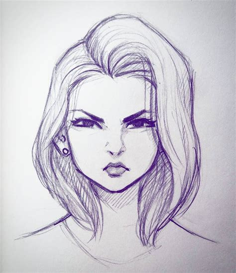 quick lunch time scribble sketch doodle art