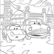 720 Coloring Pages Of Cars 2 Download Free Images