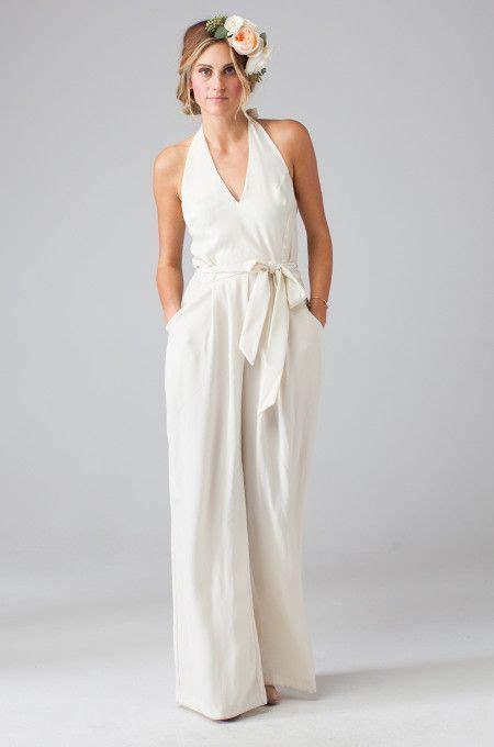 Wedding Dresses: Forget the dress, choose a jumpsuit
