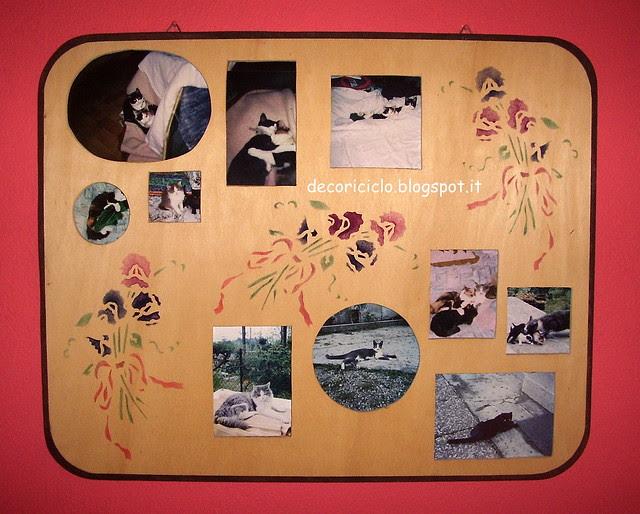portafoto traforo e stencil 2