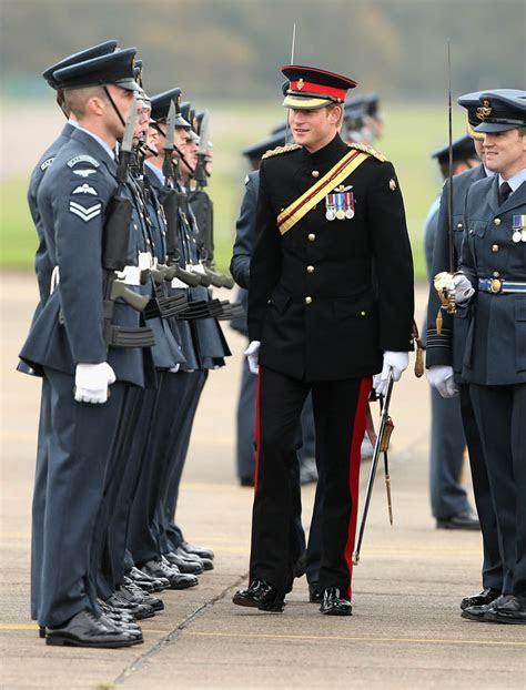 Prince Harry is irresistible in uniform at RAF Honington