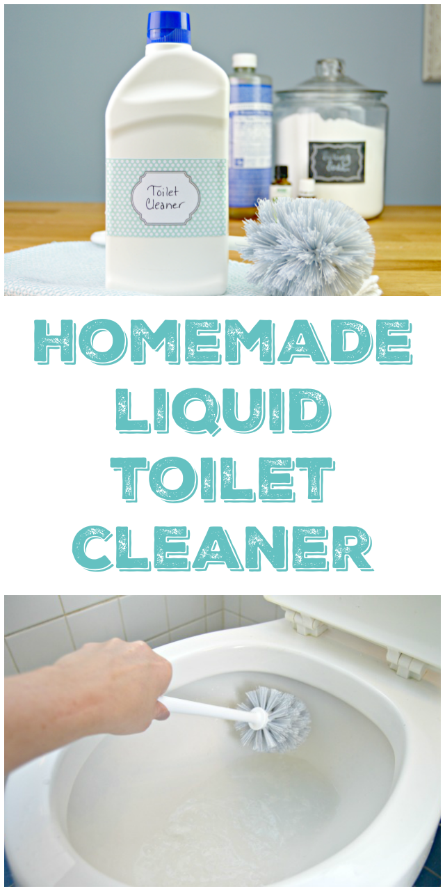 Homemade Toilet Cleaner - Liquid Version - Mom 4 Real