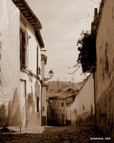 Barrio del Albayzin, Granada (Andalucía)