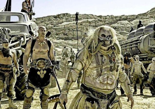 Mad Max: Fury RoadPics Are So Metal