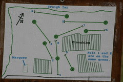 Sollas golf course map