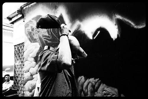 Painted Walls Of Bandra - By Graffiti Artist Alex by firoze shakir photographerno1
