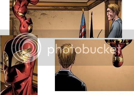O Homem-Aranha tenta argumentar