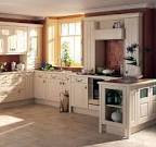 Fascinating Country Kitchen Style: Cream Kitchen Cabinet Ideas And ...