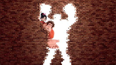 full hd wallpaper wreck  ralph cartoon broken wall