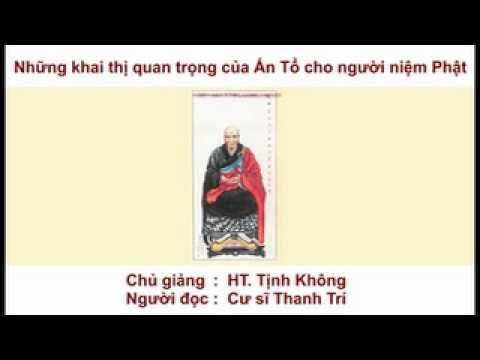 Những Khai Thị Quan Trọng Của Ấn Tổ Cho Người Niệm Phật