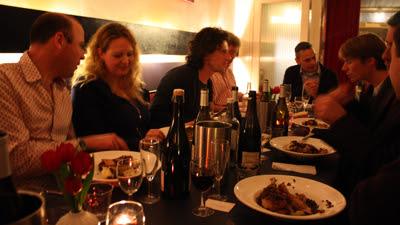 dinner afterwards