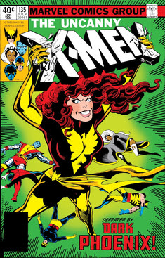 Dark Phoenix on the cover of the Dark Phoenix ...