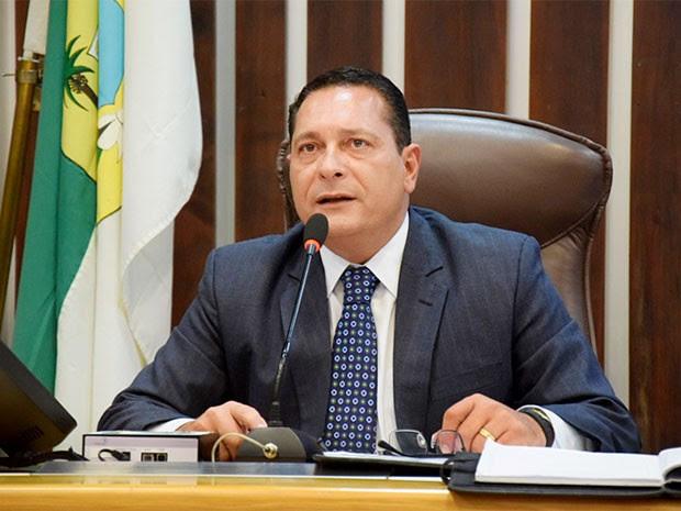 Deputado Ezequiel Ferreira, presidente da Assembleia Legislativa do RN (Foto: João Gilberto/ALRN)