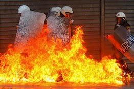 Spain is in rebellion over the imposition of austerity. The world capitalist crisis is at the root of the economic collapse of southern Europe. by Pan-African News Wire File Photos