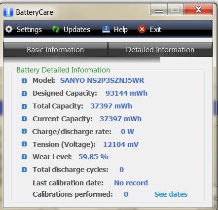 Αποτέλεσμα εικόνας για Battery Care windows 10