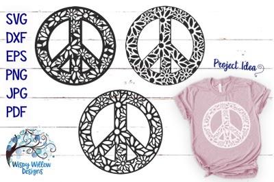 Download Download Peace Sign Zentangle Mandala Svg Bundle Free