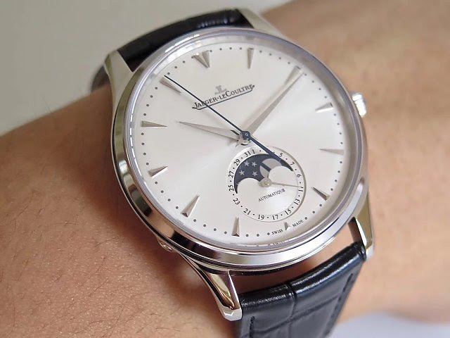 Jaeger LeCoultre Moonphase Watch Wrist Shot