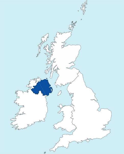 File:Northern Ireland outline.svg