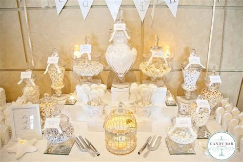 Wedding Candy Bar Buffet   Wedding Reception Decorations