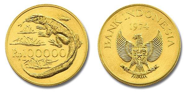 Indonesia pernah membuat 100.000 logam