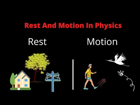 Rest and Motion in Physics