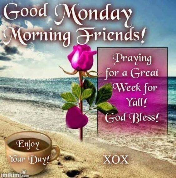 Good Monday Morning Friends Pictures Photos And Images For