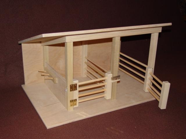 Wooden Horse Stable Toy All About Wooden