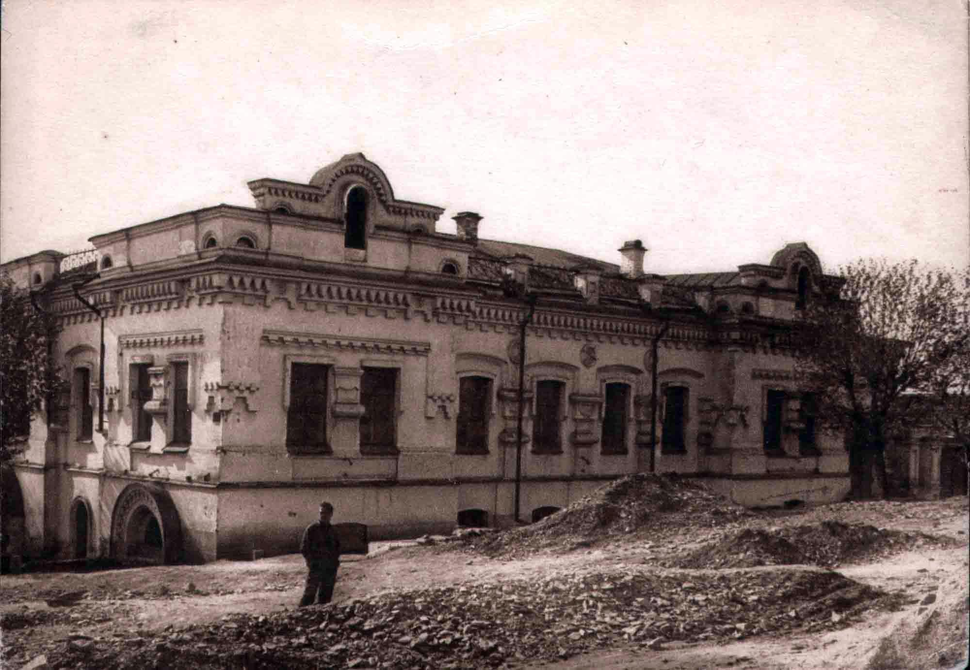Ipatiev House in Yekaterinburg