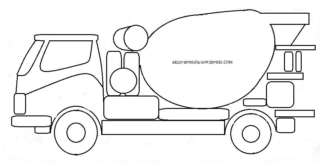 101 Gambar Mobil Untuk Mewarnai Anak Paud Gratis