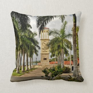 "Eliza James McBean VI Throw Pillow 16"" x 16"""