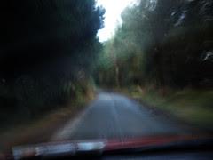 Enjoying the small roads..