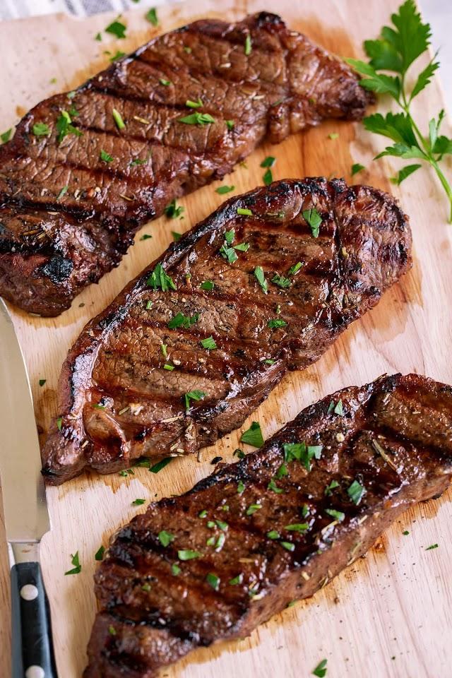 Beef Steak Recipe : Recipe: Cowboy Steaks - CBC Life