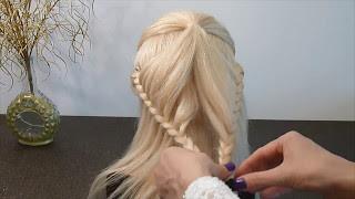 Frisuren Für Mittellange Haare Einfach Flechtfrisurenzopffrisur