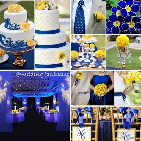 Blue and Yellow Wedding Theme   Wedding   Blue wedding
