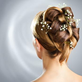 Bridal Weave Updo
