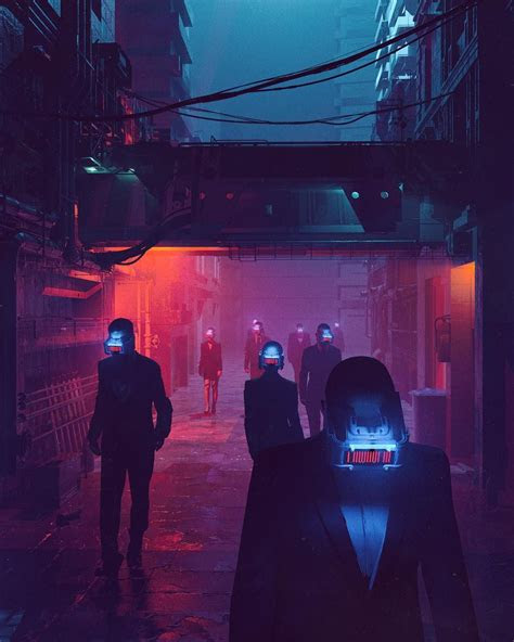 futuristic illustrations beeple crap    art