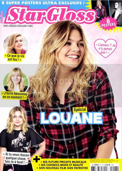 couverture Star Gloss 100% Louane