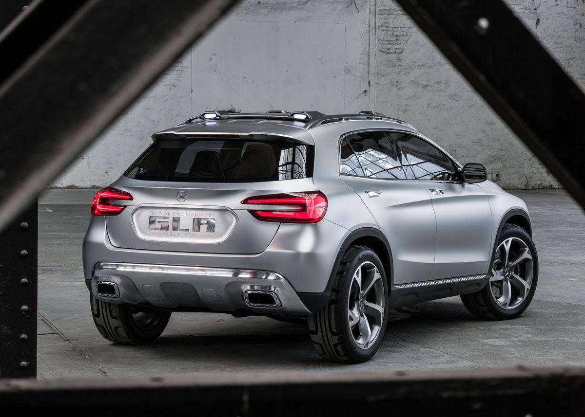 Mercedes-Benz GLA Compact SUV - eXtravaganzi
