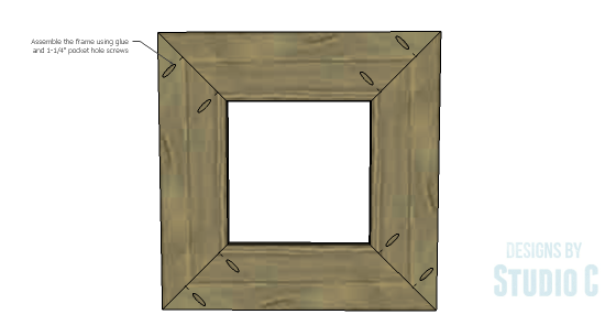 Mirror Frame-Assembly