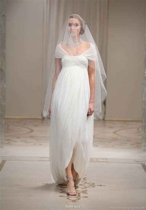 Reem Acra Spring 2010 Bridal Collection   Wedding Inspirasi