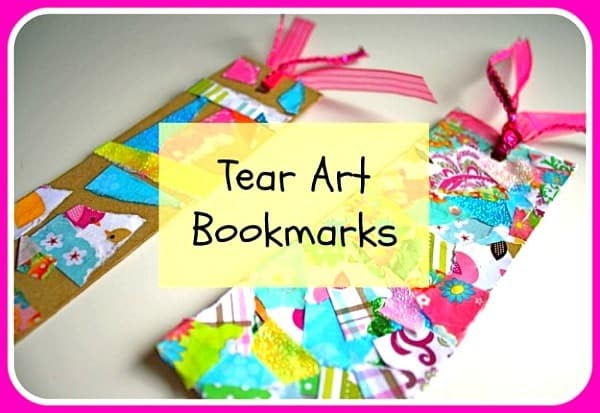 Preschool crafts for kids easy mother 39 s day bookmark craft for Bookmark craft for kids
