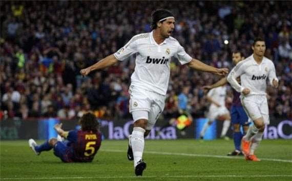 Sami Khedira, Barcelona Vs. Real madrid