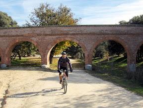 Acueducto en la Casa de Campo de Madrid