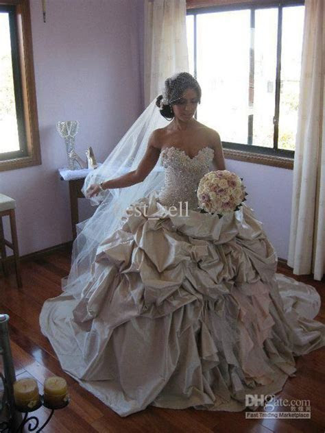New Bridal Gown Wedding Dress Ball Gown Sweetheart Corset