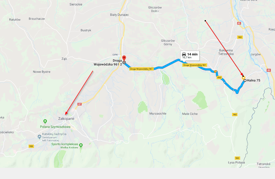 Google Maps Only Starred Places Are Visible During Route