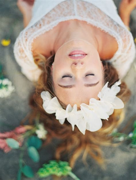 Rainbow inspired shoot in Hawaii by Wendy Laurel ? bridal