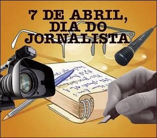 Resultado de imagem para mensagem dia do jornalista 7 de abril