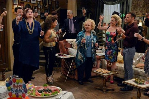Doris Roberts on Melissa & Joey