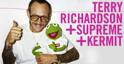 Terry Richardson + Supreme + Kermit