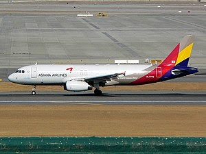 Asiana Airlines(OZ/AAR) Airbus A320-200